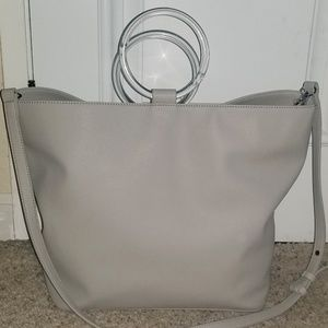 French Connection Dante Tote in Perla Grey ❤